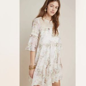 New Anthropologie Mynah Christianne Lace Dress